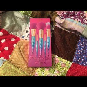 Tarte mermaid makeup brushes